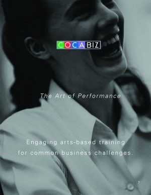 COCAbiz provides opportunities for professionals to develop business skills through the arts.