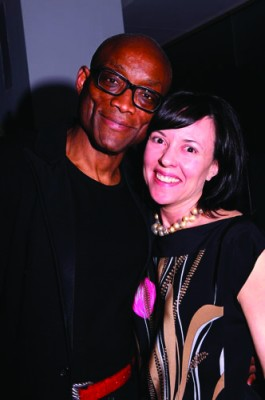 Bill T. Jones and the company's Executive Director Jean Davidson.