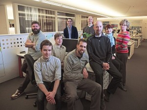 Members of the Walker Art Center's New Media Initiatives and Design Departments.