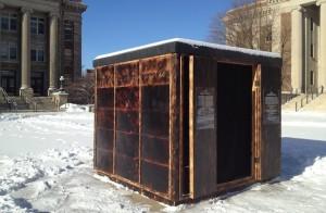 Northrop's Camera Obscura on Northrop Plaza, created by College of Design Professor Rebecca Krinke.